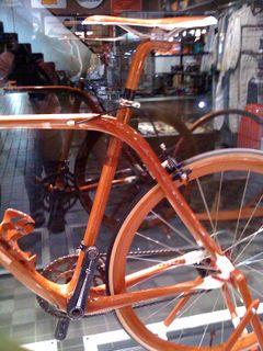 木の自転車1