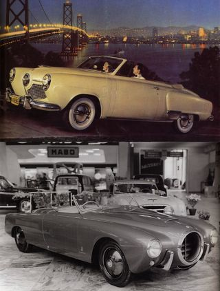 '51 StudebakerLancia Aurelia PF200